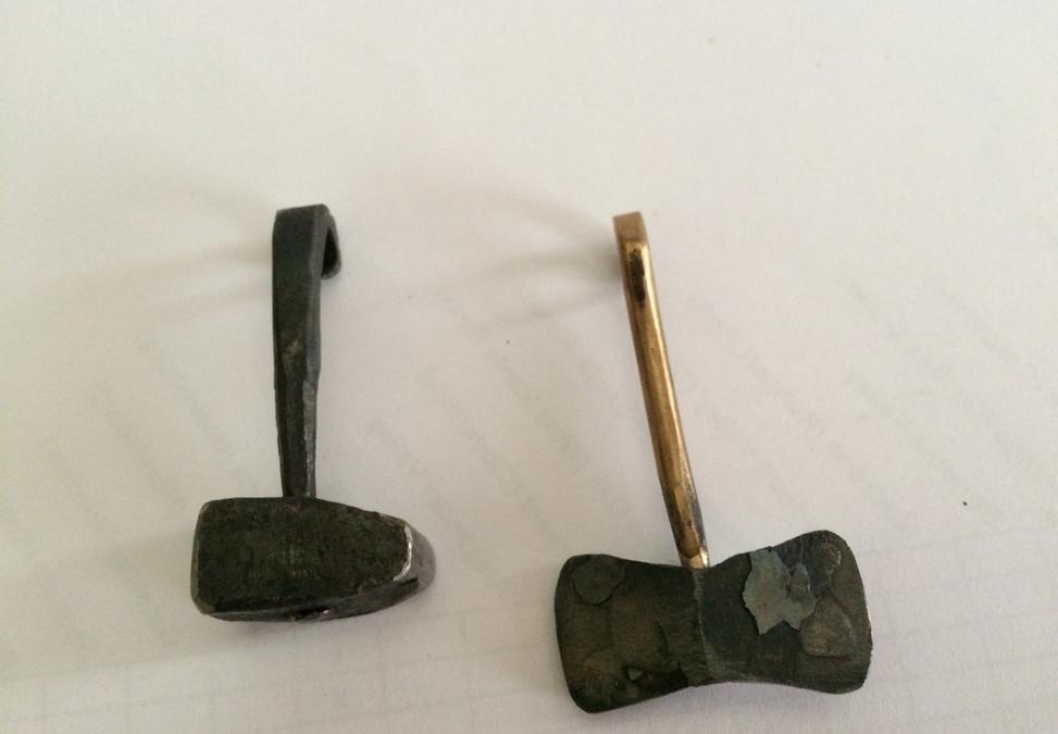 hammer and axe pendants