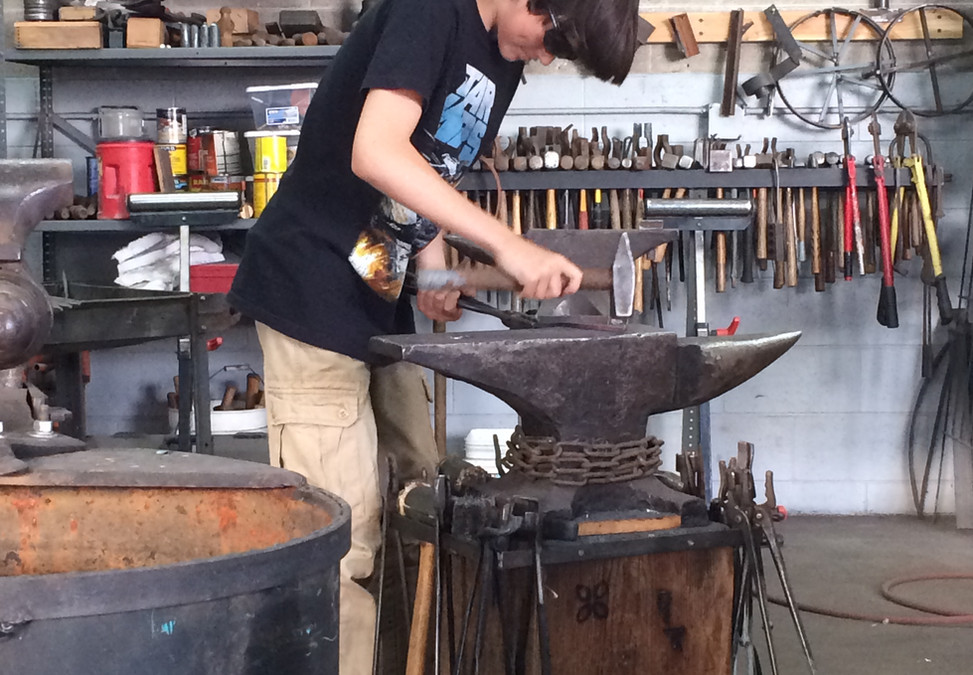 just me forging