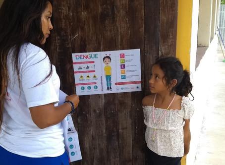 Campaña de prevención y detección contra el Dengue, Quintana Roo