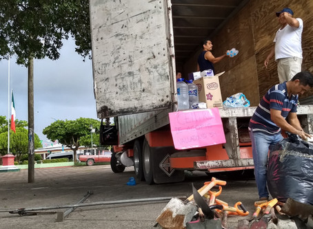 Transporte de acopio a Oaxaca, Zanatepec