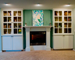 Great Room Built-ins & Fireplace