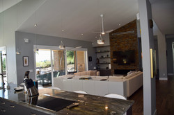 Open Concept Kitchen & Family Room