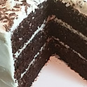 Ivory Chocolate Layer Cake