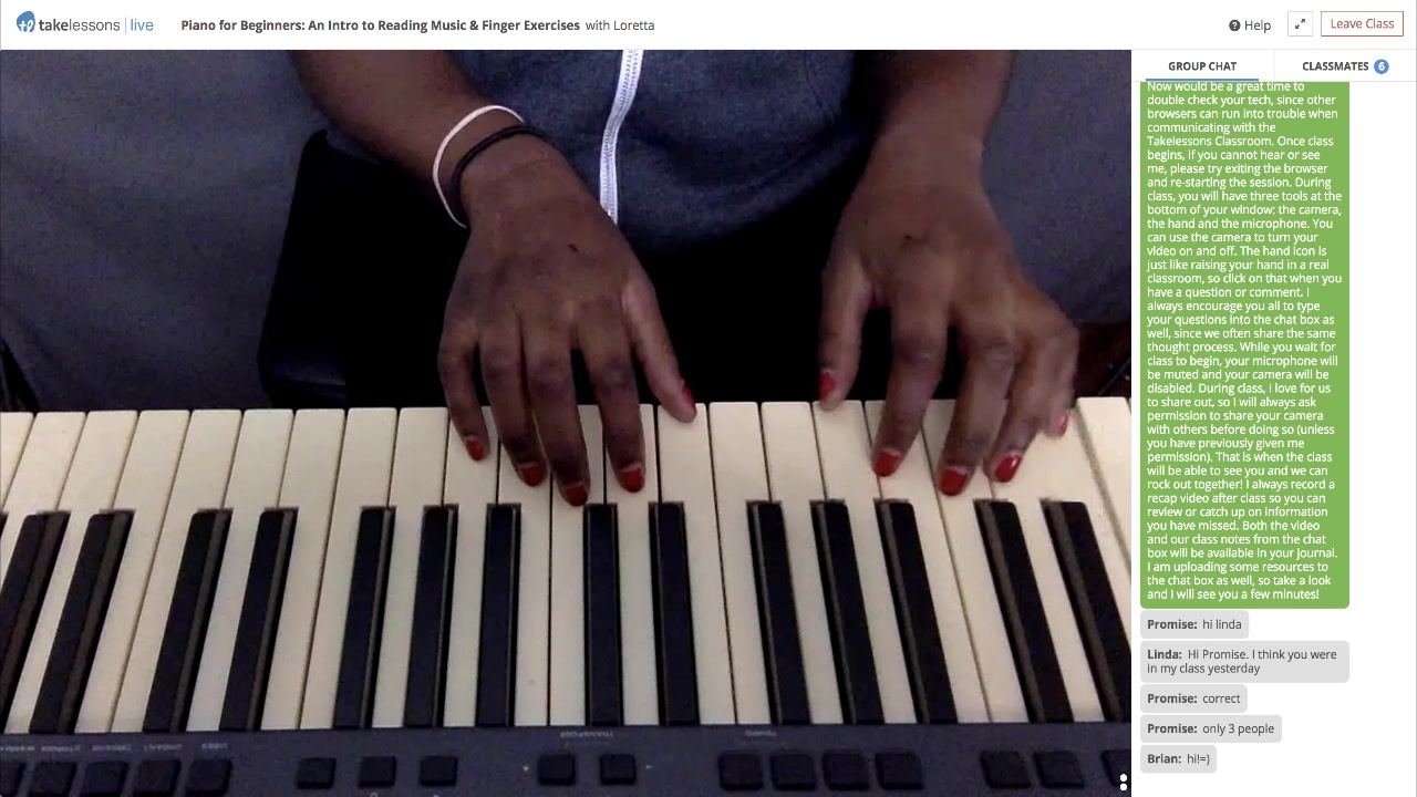 Piano for Beginners: An Intro to Reading Music & Finger Exercises with Loretta