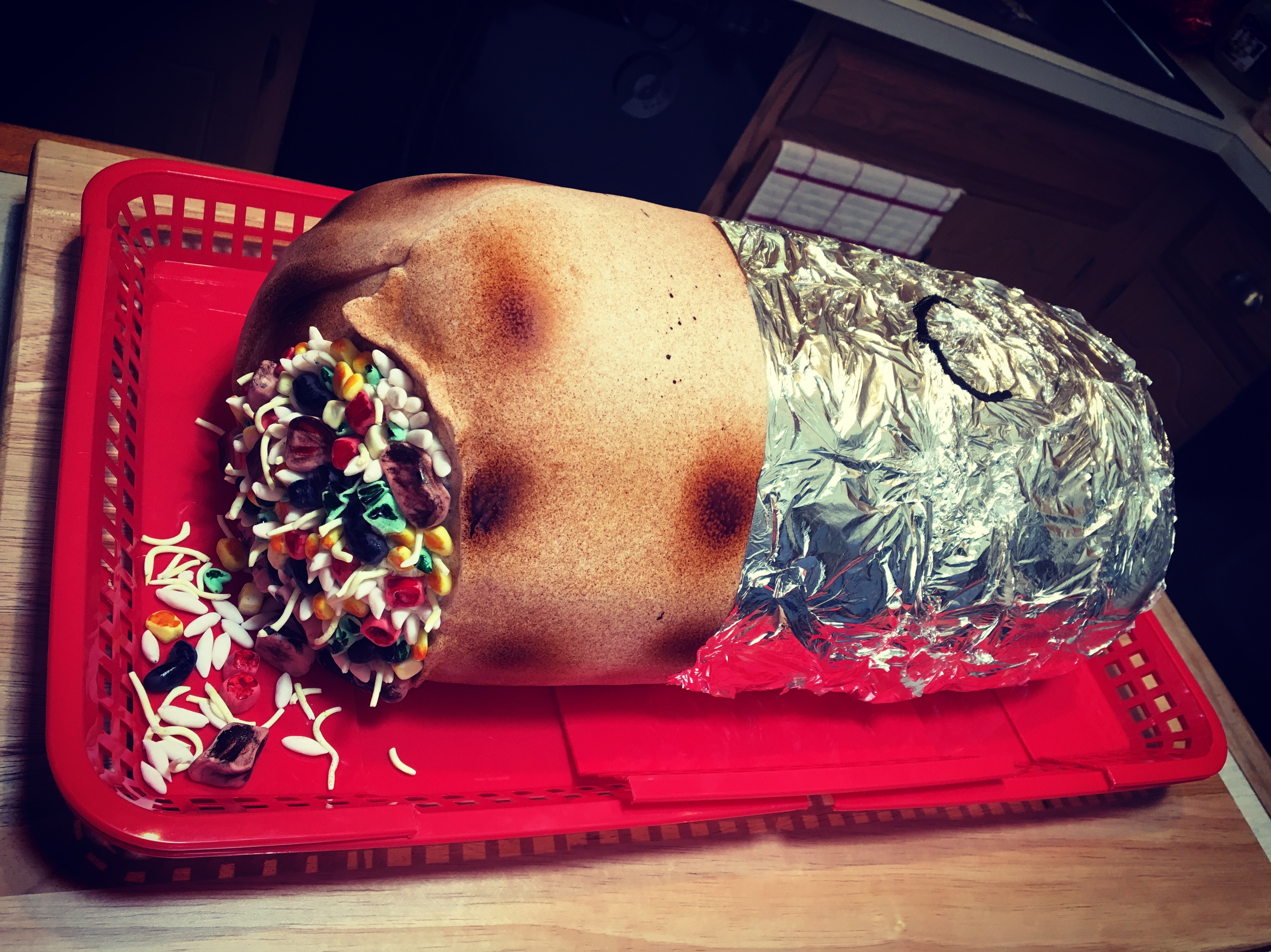Chipotle Burrito Groom's Cake