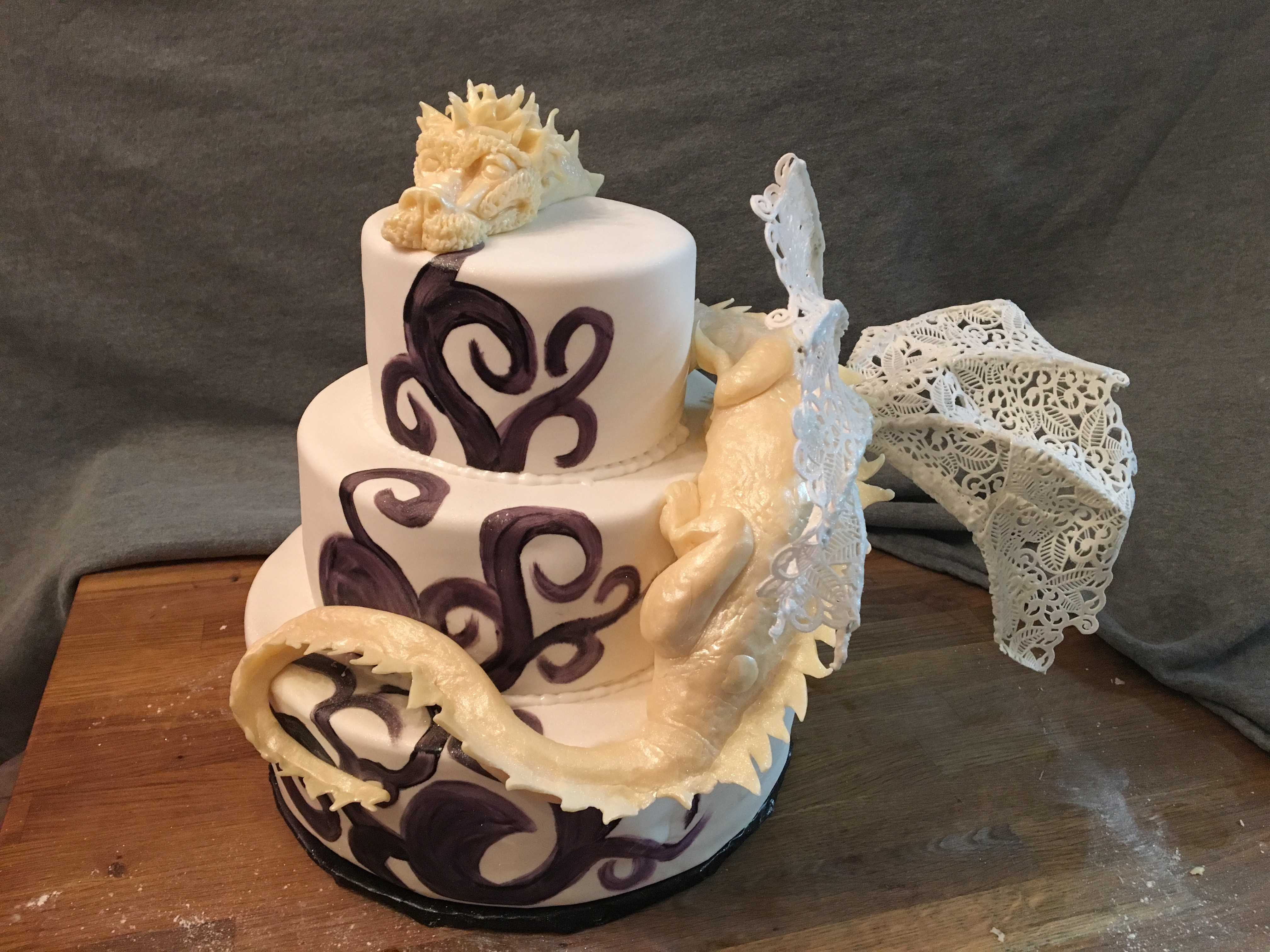Dragon Bride's Cake