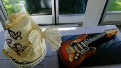 Bride's & Groom's Cakes