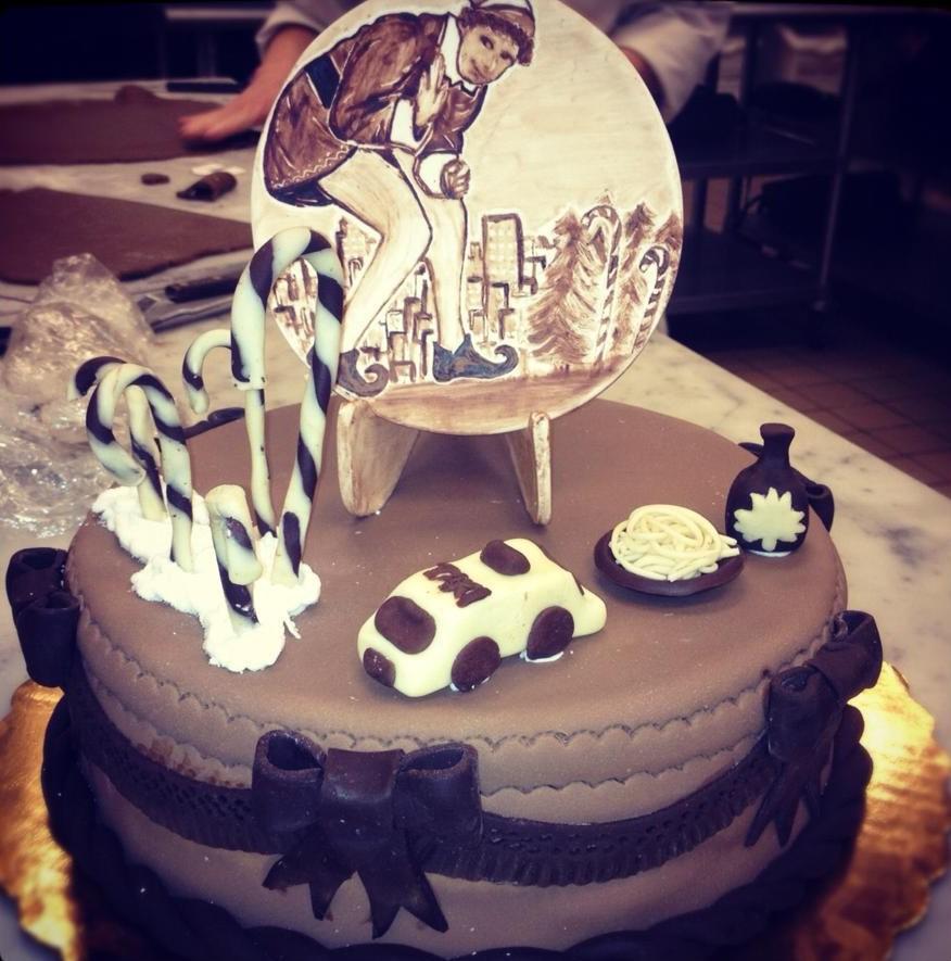 """Elf"" Cake"