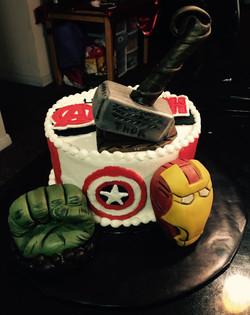 Fondant Avengers Figures