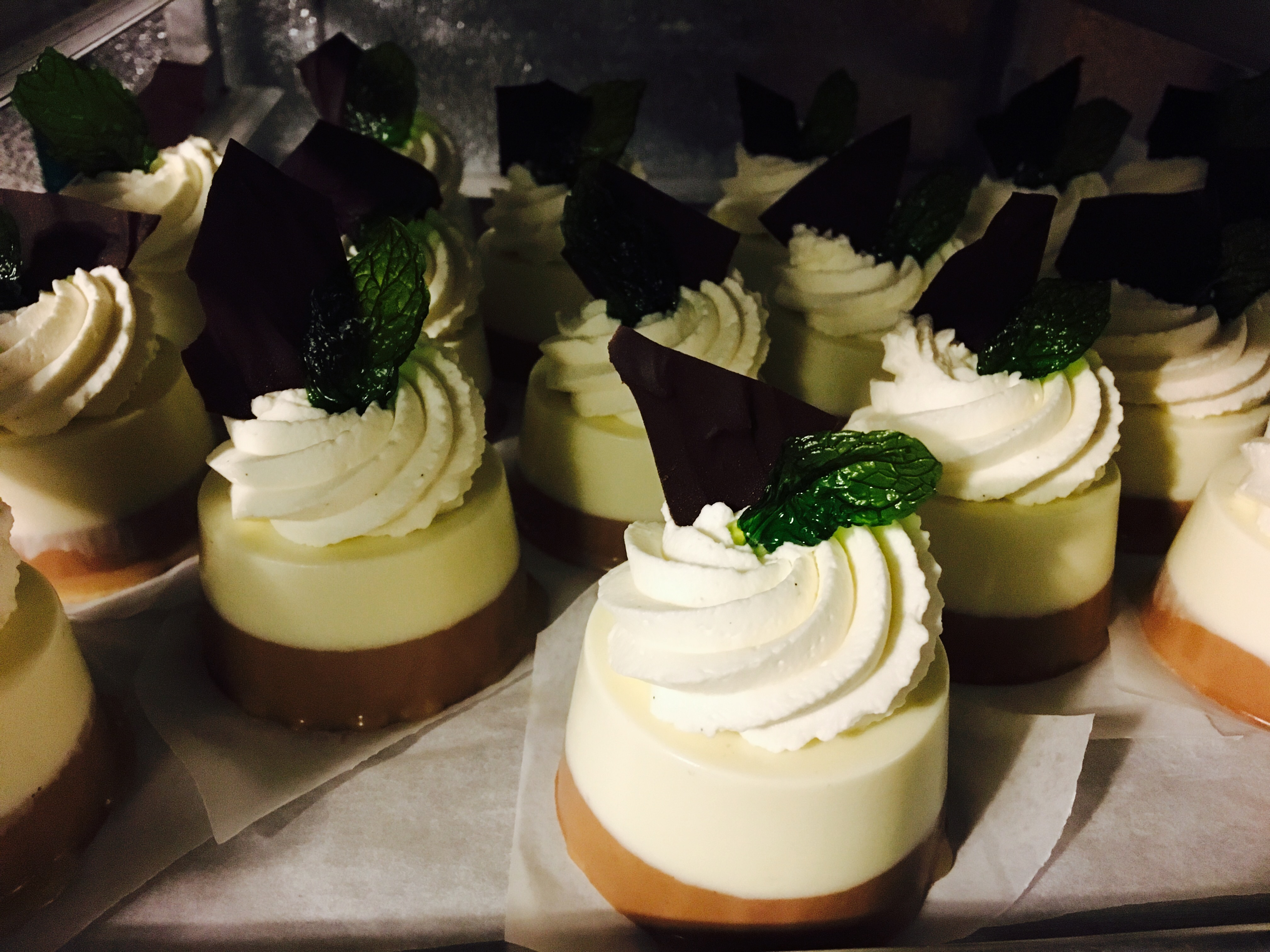 Mint Chocolate Panna Cotta