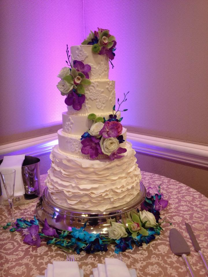 6 Tiered Wedding Cake