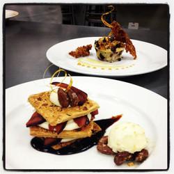 Plated Desserts