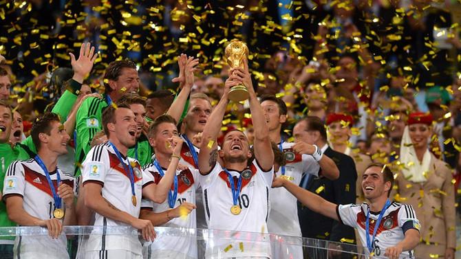 Quatro a zero para a Alemanha