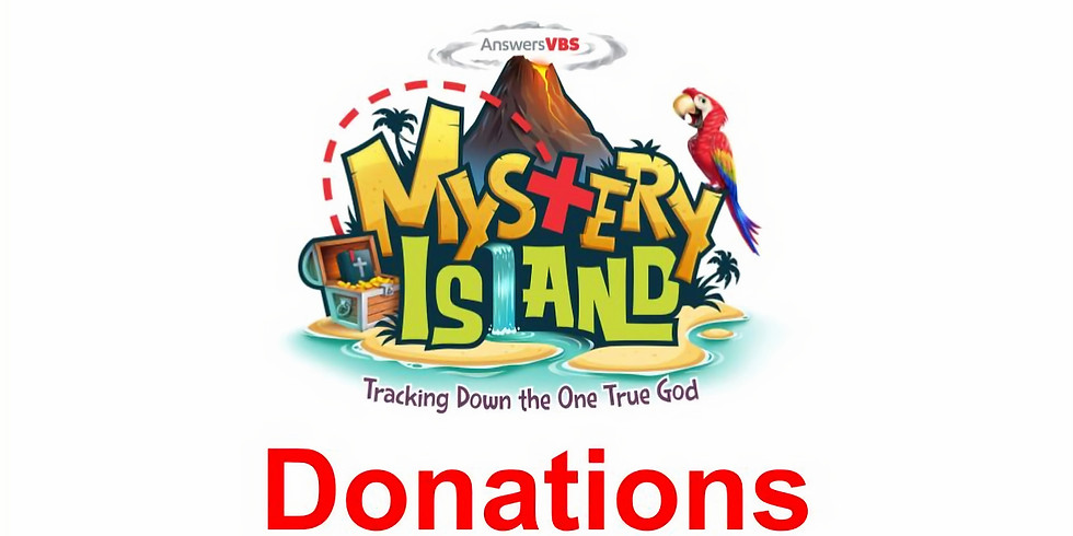 VBS Donations & Serving Opportunities