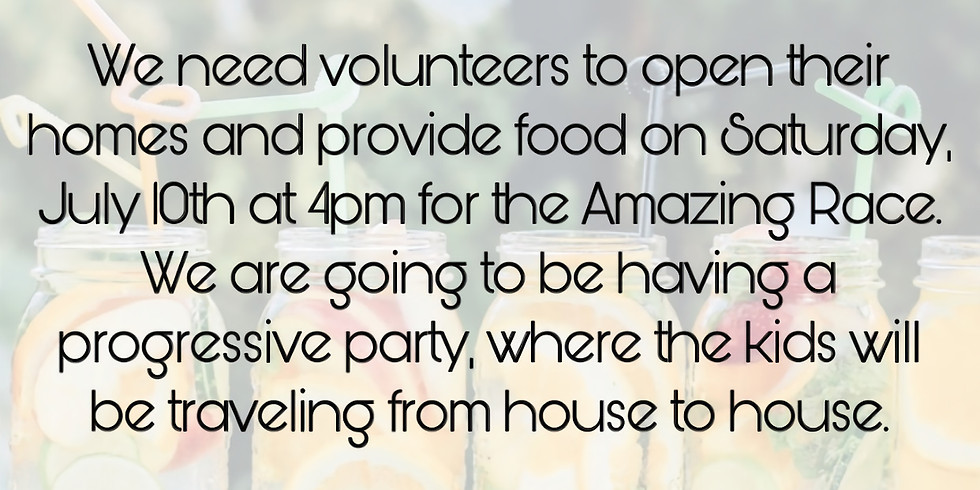 Host Homes Needed!