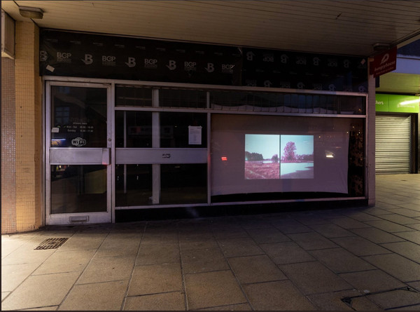 Great to see 'Conversation 669' screening at Artwalk Wakefield as part of the Axisweb Street