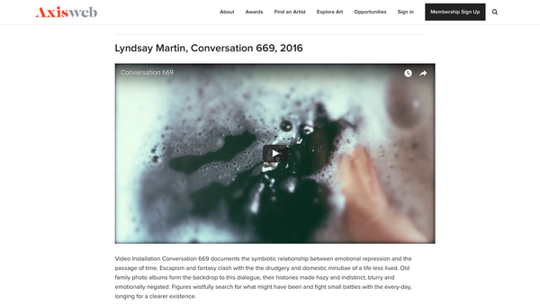 Conversation 669 on Axisweb Playlist