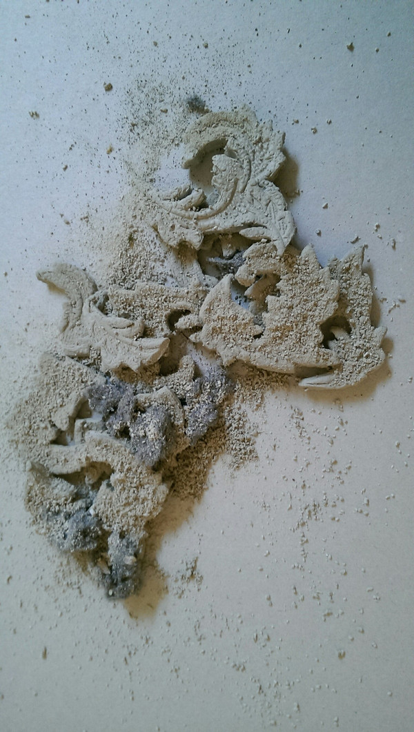 Clay and dust