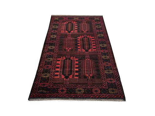 "10680 Belluchi 3' 7"" X  6' 9"" Wool Pakistani Area Rug"