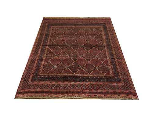"10317 Belluchi 4' 8"" X  6' 1"" Wool Afg Area Rug"