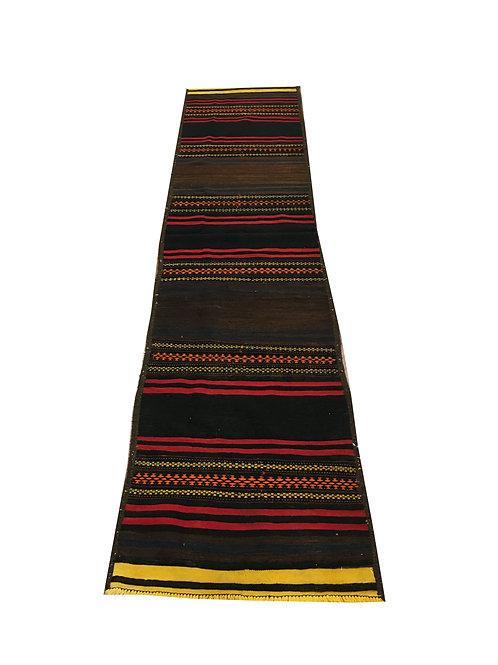 """10176 Kilim 2' 3"""" X  9' 8"""" Wool Pakistani Area Rug"""