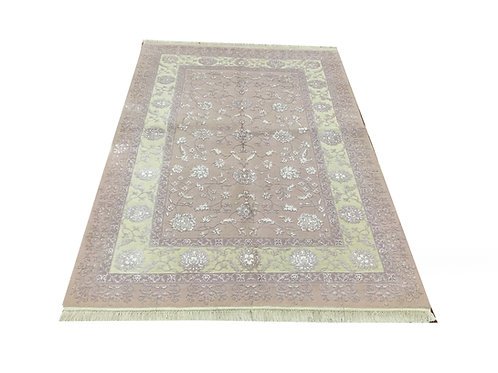 "11023 Sultan14/14 4' 0"" X  5'11"" Wool And Artifial Silk  Area Rug"