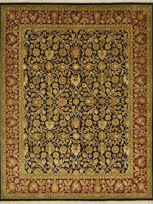 """4108 AURORA 7' 11"""" X 10' 0"""" Wool & Silk"""