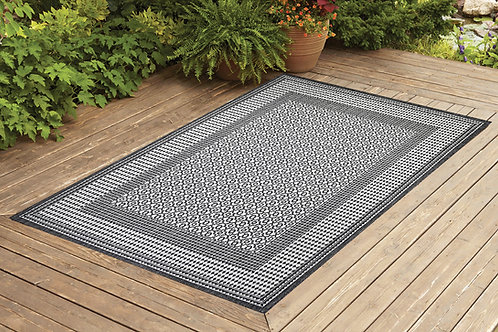 Contemporary Indoor/Outdoor Sisal Area Rug Tile Collection