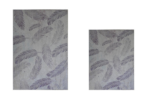 Benissimo Bath Mat Modern Collection Printed Design Vibrant and Soft Mats2'4'X3'