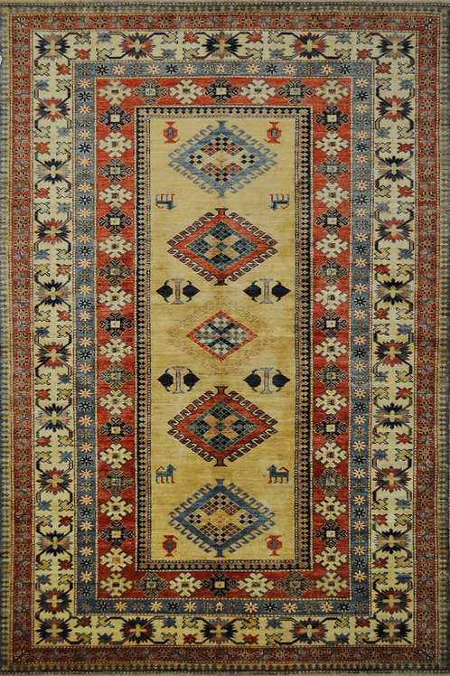 "3541 SUPER KAZAK 5' 4"" X 8' 0"" Wool"