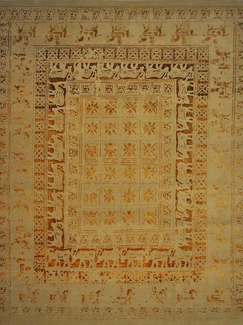 "4813 PERISMO 8' 3"" X 9' 11"" Wool & Artificial Silk"