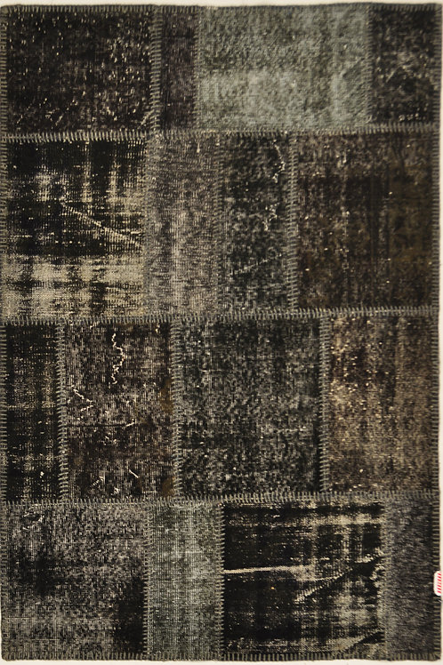 "1086 PATCHWORK 3' 11"" X 5' 11"" Wool"