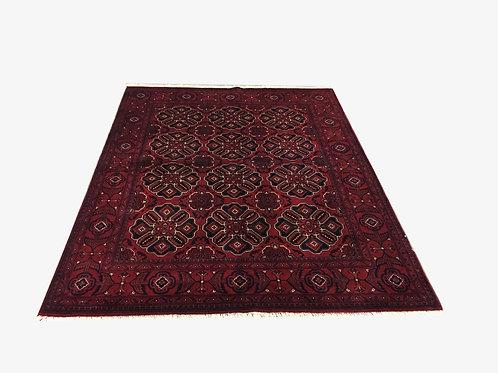 "10848 Kunduz 5' 3"" X  6' 8"" Wool Afg Area Rug"
