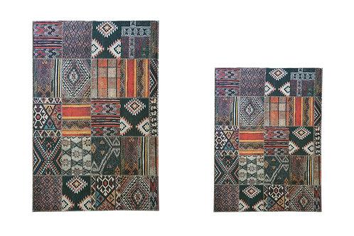 Benissimo Bath Mat Modern Collection Printed Design Vibrant and Soft Mats 2'4'X3