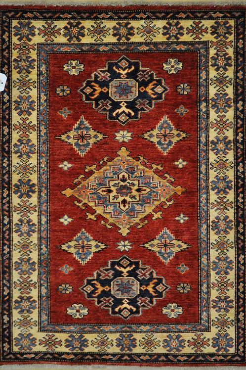 """3220 KAZAK 2' 9"""" X  3' 10"""" Wool"""