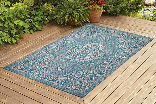 Contemporary Indoor/Outdoor Sisal Area Rug Palace Collection