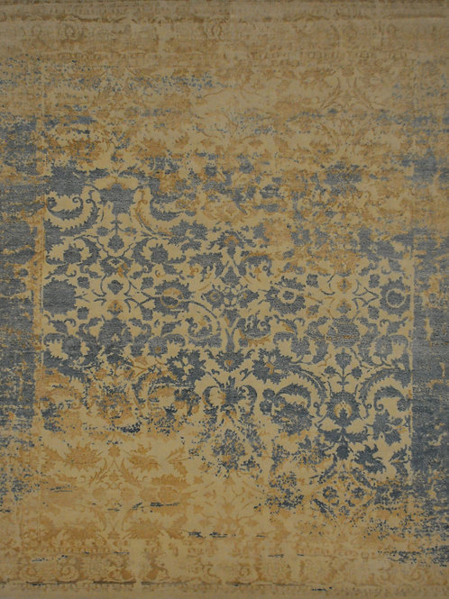 "4651 PERISMO 8' 3"" X 9' 11"" Wool & Artificial Silk"