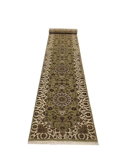 "3842 SULTAN 14/14 2' 6"" X 16' 0"" Wool & Artificial Silk"