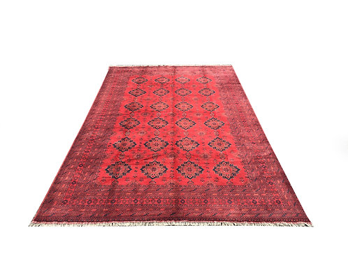 "10169 Turkishkmen 9' 8"" X 15' 6"" Wool Afg Area Rug"