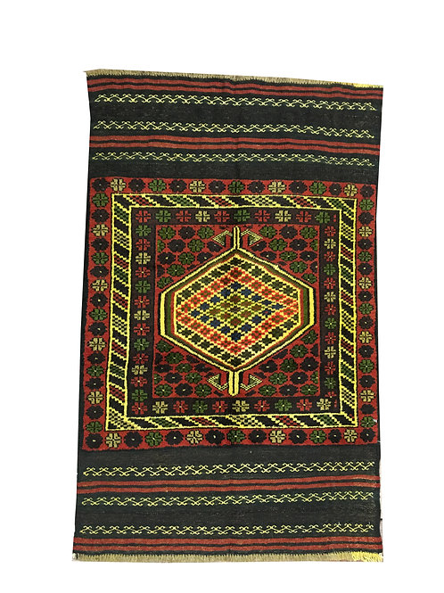 "10808 Belluchi 2' 9"" X  4' 5"" Wool Pakistani Area Rug"