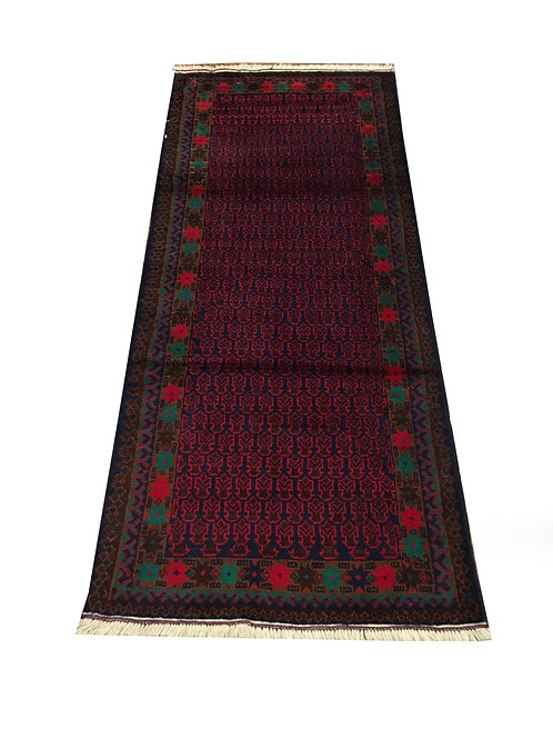 "10232 Belluchi 2' 6"" X  6' 1"" Wool Pakistani Area Rug"