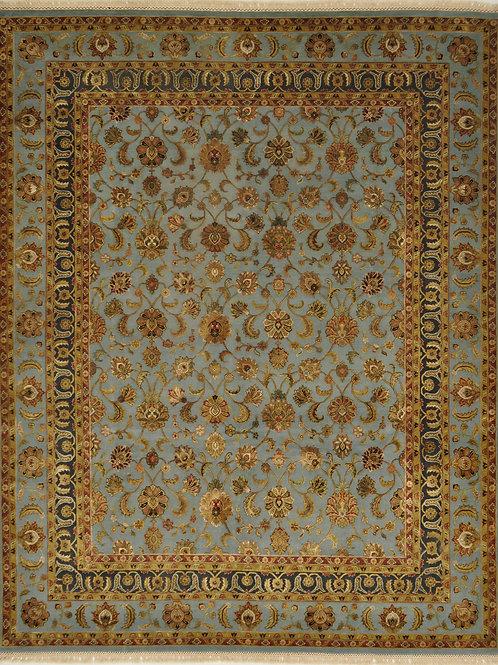 """4264 AURORA 8' 1"""" X 10' 2"""" Wool & Silk"""