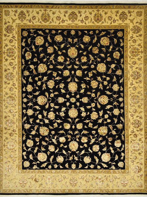 "3873 SULTAN14/14 8' 0"" X 10' 0"" Wool & Artificial Silk"