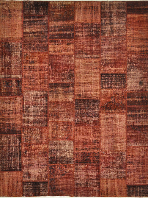 "175 PATCHWORK 8' 2"" X 10' 3"" Wool"