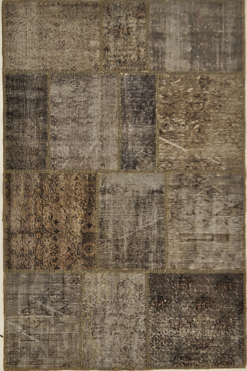 "1195 PATCHWORK 4' 2"" X 6' 4"" Wool"