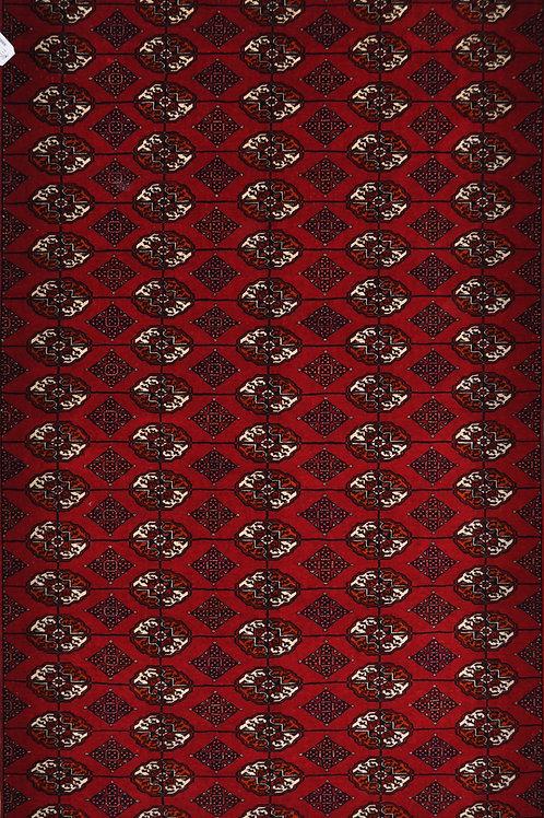 """4112 BUHARA  4' 6"""" X  7' 11"""" Wool"""