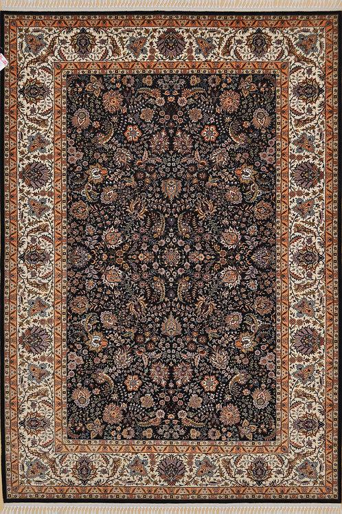 "5804 CEZAEVIWOOL 5' 1"" X  7' 3"" Wool & Silk"