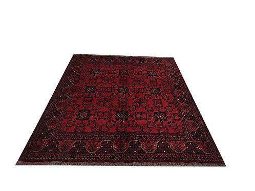 "10717 Turkishkmen 5' 8"" X  7' 6"" Wool Afg Area Rug"