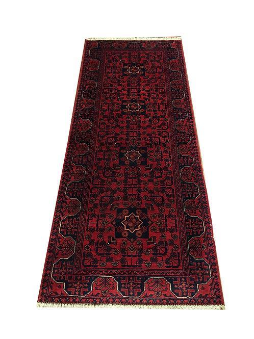 "10851 Kunduz 2' 4"" X  6' 0"" Wool Afg Area Rug"