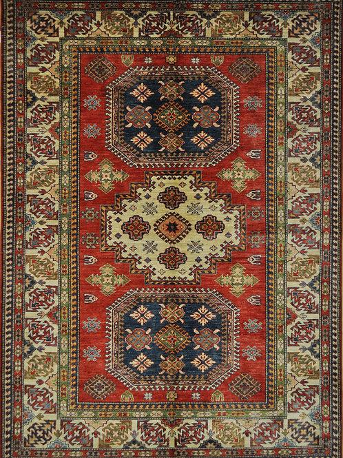 """3124 KAZAK 5' 6"""" X 7' 8"""" Wool"""